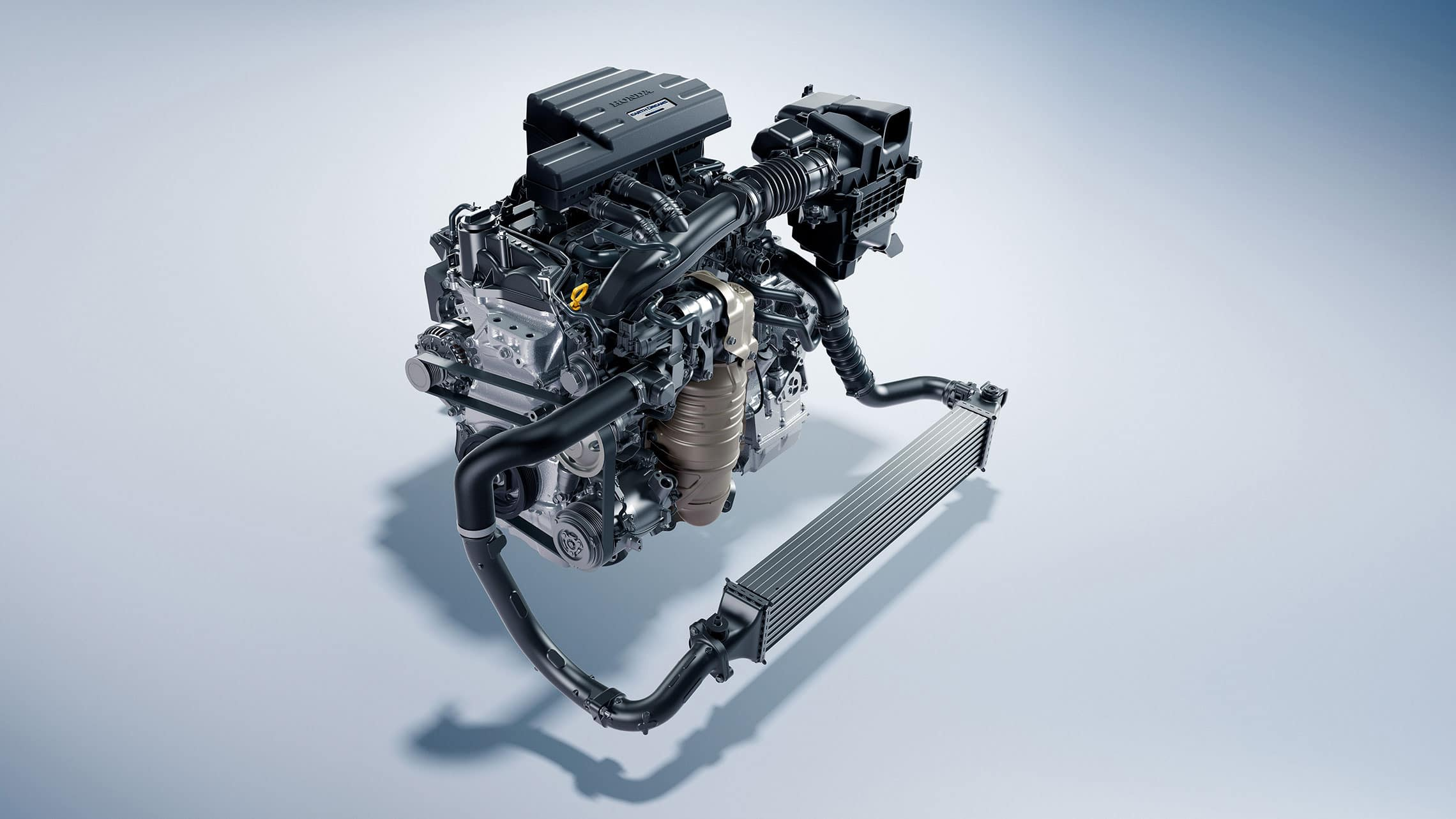 1.5L Turbocharged Engine Detail in the 2020 Honda CR-V
